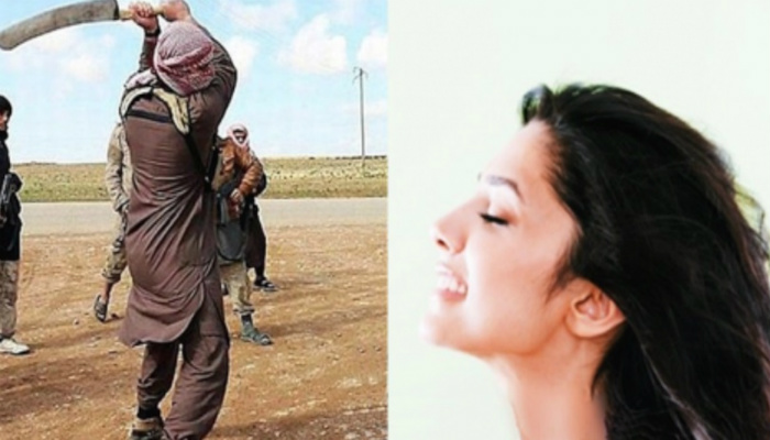 ISIS Soldiers Are Just Seconds Away From Executing Woman… She Looks At Them, Smiles And Says 1 Word
