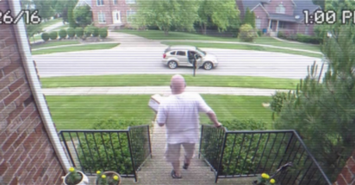 Thief Steals Packages, Man Sets Hidden Camera And EXPLOSIVE 'Bait Box' [WATCH]
