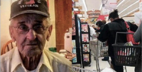 WWII Veteran's Encounter At Store Goes Viral For Shocking Reason