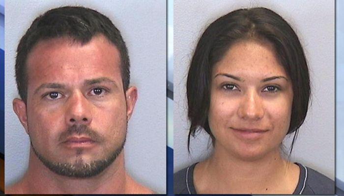 Jose Caballero, 40, and Elissa Alvarez, 21