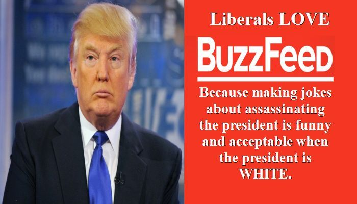 BuzzFeed Reporters Joke About President Trump Assassination