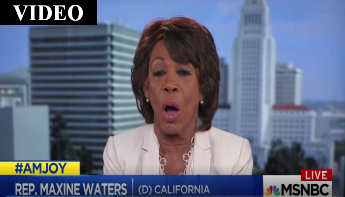"""Maxine Waters Pushes Impeachment: """"I Don't Care What Others Say"""""""