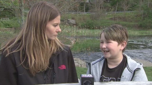 1 Month After Father Dies Here's How This 8yo Boy Saved His Mother's Life[VIDEO]
