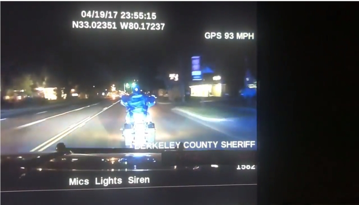 Sheriff's Deputy Floors It Behind Motorcyclist, What Happens Next SHOCKS Witnesses [VIDEO]