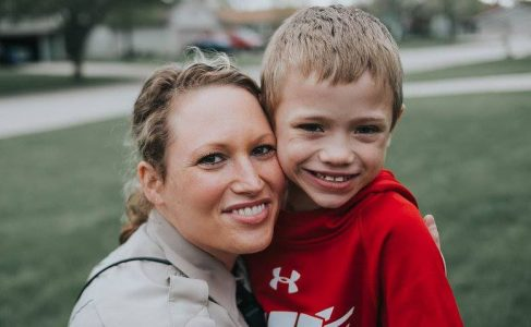 Police officer donates kidney to young boy - photo credit - 10TV