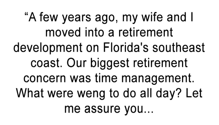 This Guy Wrote A Hilarious Review Of Retired Life That Will Leave You Smiling