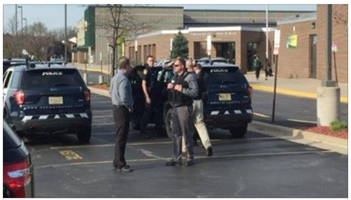 Police Learn What Person In Body Armor Really Is After Evacuating High School