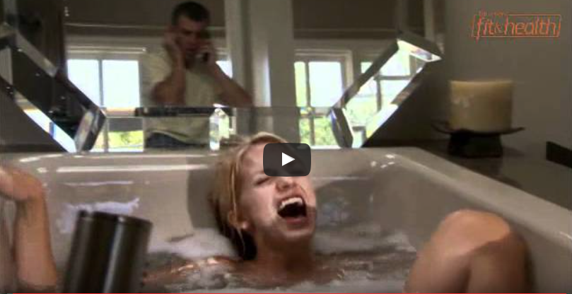 He Hears His Sister Screaming From The Bathroom, He Runs In To Check On Her [WATCH]