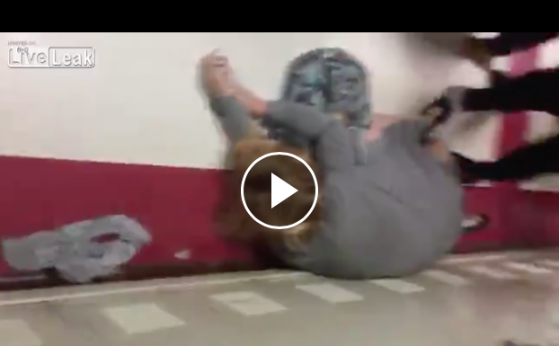 Black Student Knocks White Teacher Out During Fight, Principal's Response Is Dumbfounding [WATCH]
