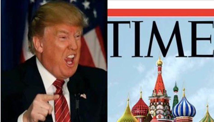 TIME Magazine Publishes Shocking Anti-Trump Cover, Have They Gone Too Far? [PHOTO]