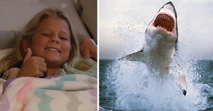 10yo Escapes Shark, What She Sees On Shore Has Her Running Right Back In The Water [WATCH]