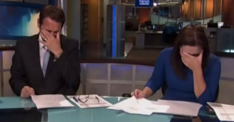 Here's The Blooper That's So Funny, Anchors Were Laughing So Hard They Couldn't Continue  [VIDEO]