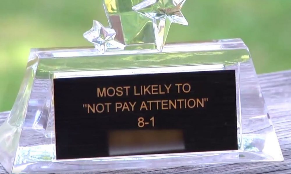 Teachers Give ADHD Student a Trophy: They Pay a Huge Price For It