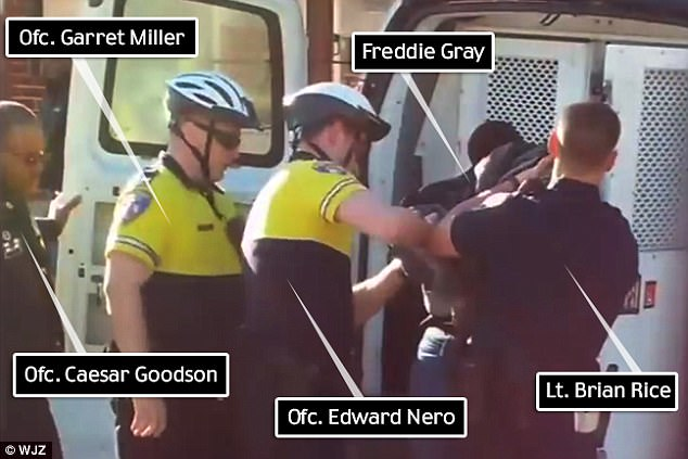 Baltimore Looking to Fire 3 and Punish 2 Officers in Freddie Gray Case After They Were Not Convicted of Any Crime