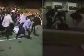Massive Wedding Brawl Caught on Tape in Fremont, California[VIDEO]