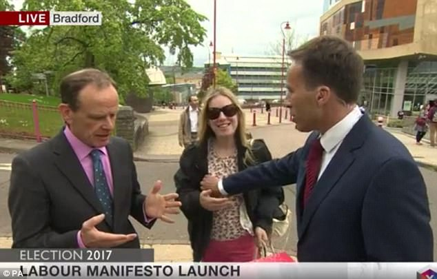 BBC Reporter Grabs Woman's Breast..Says It Was an Accident [VIDEO]