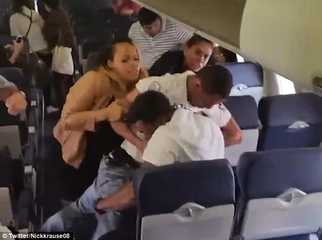 Brawl Erupts on Southwestern Flight [VIDEO]
