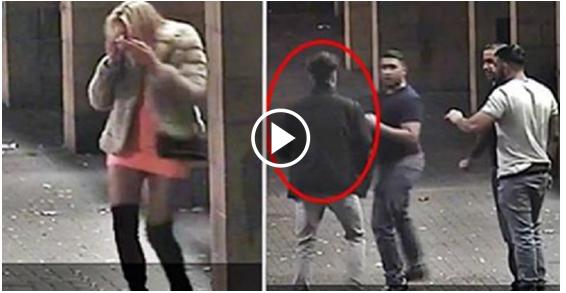 Muslim Men Brutally Assault Woman For Wearing Short Skirt, Then Her Boyfriend Arrives