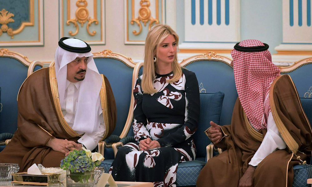 Ivanka Receives $100 Million For Women in Business From Saudi Arabia and the U.A.E.