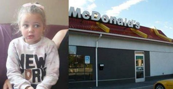 4 Year Old Girl Runs Out Of McDonald's Bathroom Crying, Ends Up In Hospital