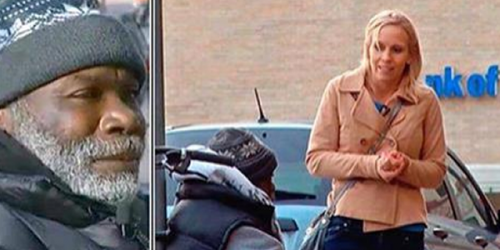 Woman Shocked By Homeless Man's Response After Mistakenly Giving Him Engagement Ring