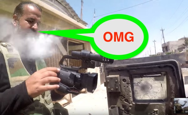 Shoulder-Mounted GoPro Saves Journalist From Iraqi Sniper [RAW VIDEO]