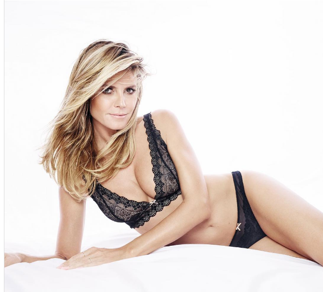 See The Never Before Released Heidi Klum Video [VIDEO / PHOTOS]