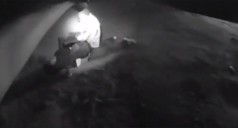 VIDEO: Lufkin PD Officer Shoots Zombie-Like Man Who Doesn't Even Flinch When Shot [GRAPHIC VIDEO]