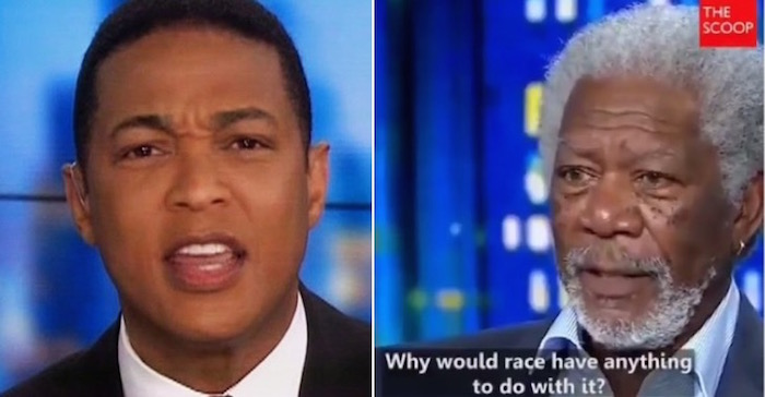 Watch Morgan Freeman Destroy Race baiting Don Lemon [VIDEO]