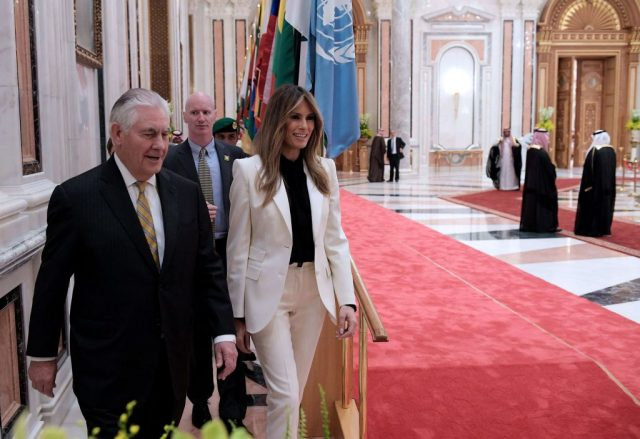 Melania Trump Turns Heads With This Outfit She Wore In Saudi Arabia [SLIDESHOW]