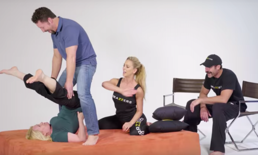 Looking to Spice Up The Bedroom? Adult Film Stars Now Teach Classes On Advanced 'Positions' [WATCH]