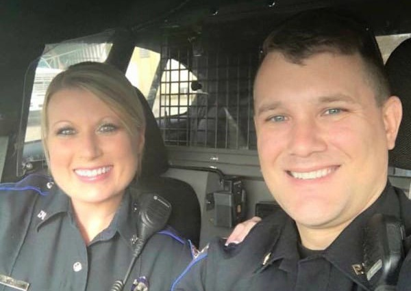 Look Closely at This Photo of Two Cops. There's One Reason It's Going MEGA VIRAL.
