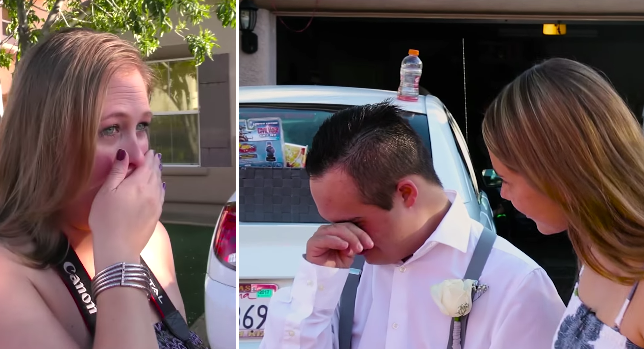 Teen Is Rejected Prior To Homecoming Dance, But When A Stranger Pulls Up, His Mom Loses It