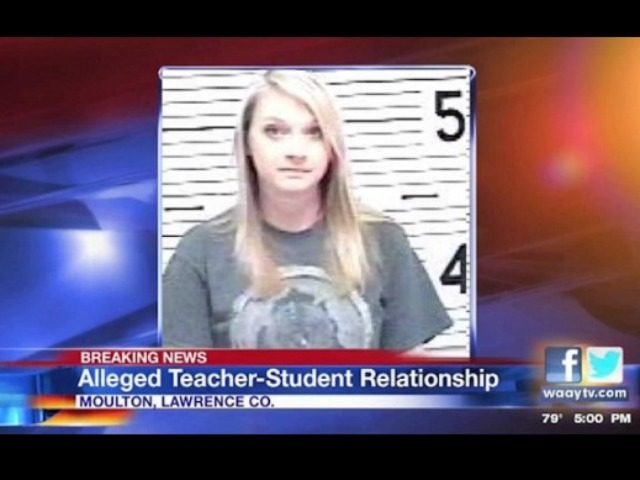Alabama School Teacher, 27, Charged With Having Sex With Student One Month After Divorce [VIDEO]