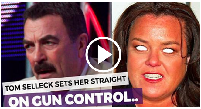 Sick Of Rosie Running Her Mouth, Tom Selleck Has Had Enough. Destroys Her With One Sentence [VIDEO]