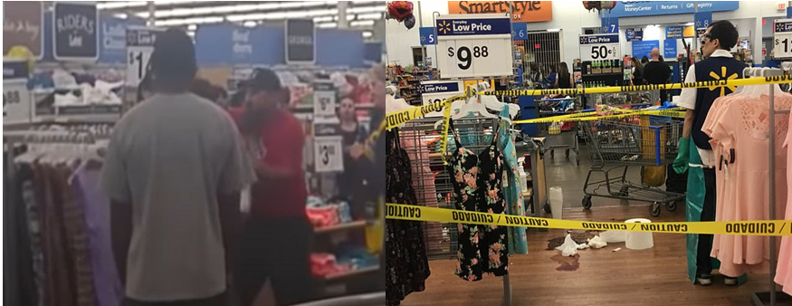 Things Take A Turn After Bloody Brawl Breaks Out At California Walmart [VIDEO]