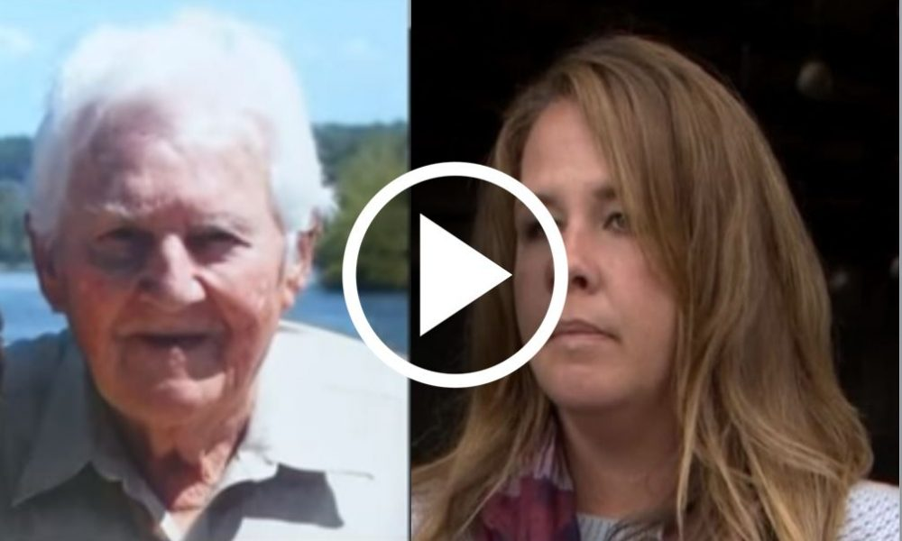 Woman Notices Something Odd About Elderly Man, Quickly Realizes What Happened [WATCH]