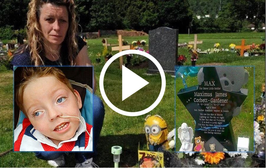 4yo Boy's Headstone Removed Because A Single Person Complained [WATCH]