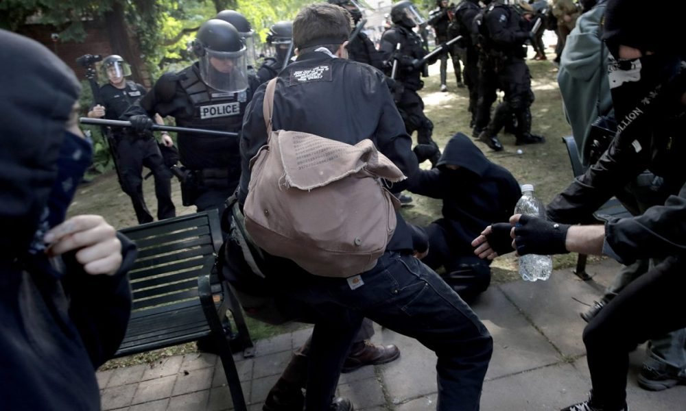 Antifa Using Gross Bombs on Cops: ACLU and Portland Mayor Give Cops Hell