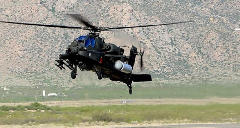 Look What Happens When Military Uses Lasers On An Apache