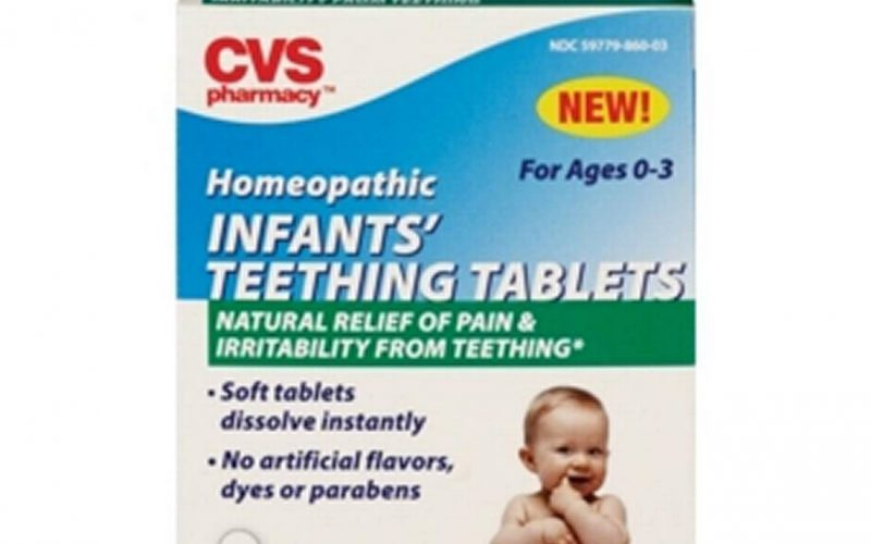 CVS teething tablets