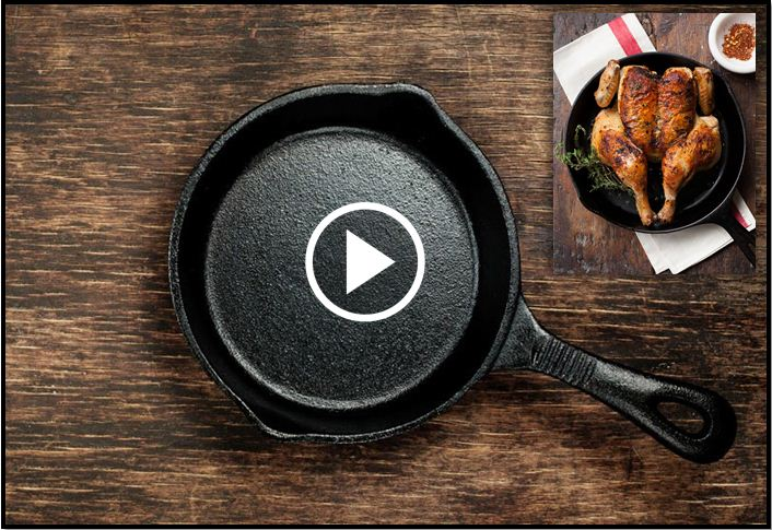 They Said Cast Iron Pans Are Great For Cooking, But Here's What They Left Out [VIDEO]
