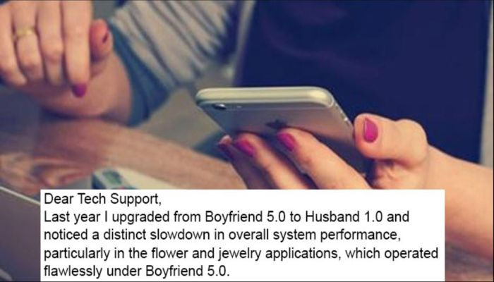 She Wrote Tech Support About Her Husband, Here Is Their Epic Reply