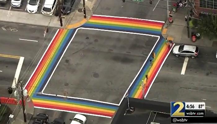 LGBT Community Demanding Permanent 'Rainbow Crosswalks' Across The Country [VIDEO]