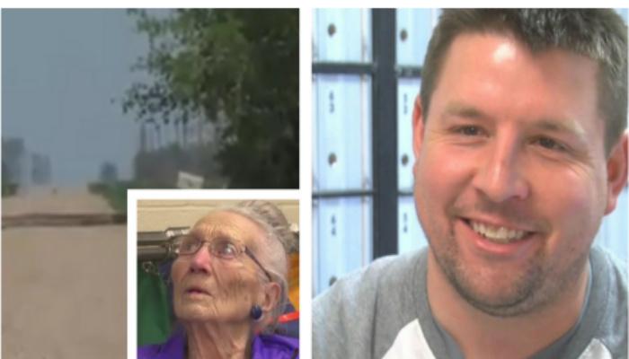 Mailman Knocks On 94-Year-Old's Door And Hears Faint Cry,  Immediately Breaks Down The Door