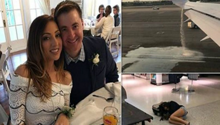 Newlyweds Save Flight From Disaster, Then United Airlines Gives Thanks Them In The Worst Way [PHOTOS]