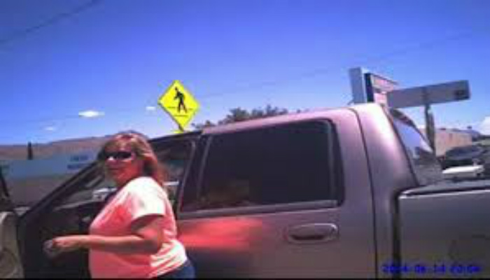 Woman Leaves Dog In Hot Car, When She Get's Back Police Are Waiting For Her With A Harsh Demand [VIDEO]