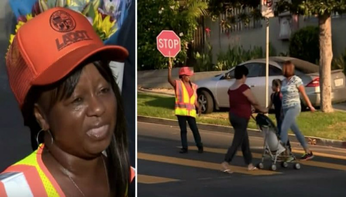 Crossing Guard About To Head Home When She Hears Screams Coming From Child [VIDEO]