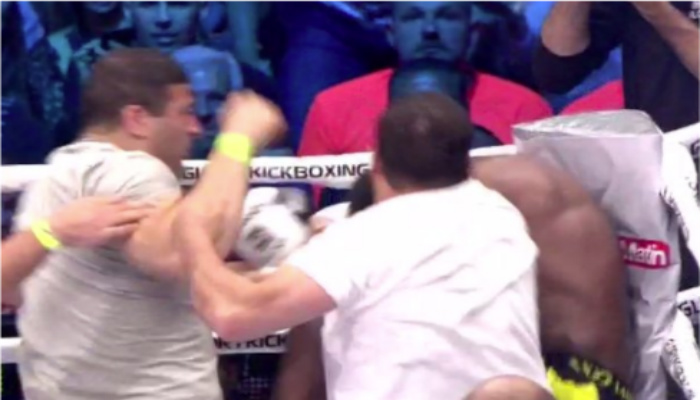 Spectators Attack Kickboxer After Wild 'Coward Punch' KO [VIDEO]