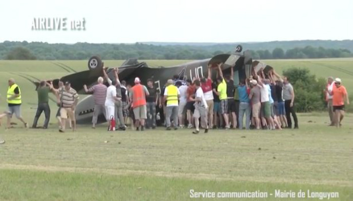 Horror Strikes At Air Show As WWII Spitfire Nosedives Injuring Spectators [RAW VIDEO]